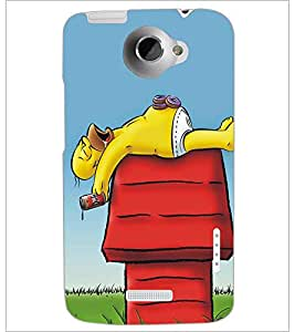 HTC ONE X CARTOON CHARACTER Designer Back Cover Case By PRINTSWAG