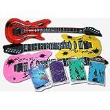 12 aufblasbare Gitarren 55cm - Luftgitarren