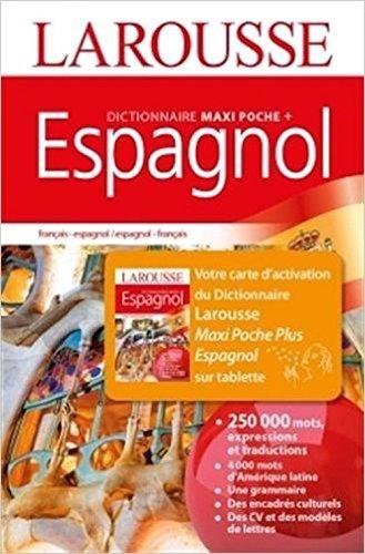 Dictionnaire Maxi Poche + français-espagnol et espagnol-français : Avec carte d'activation