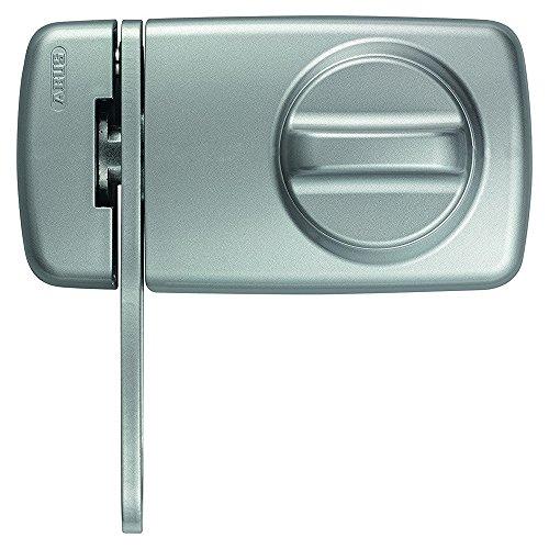 Tür-Zusatzschloss 7030 S silber mit Sperrbügel 53229