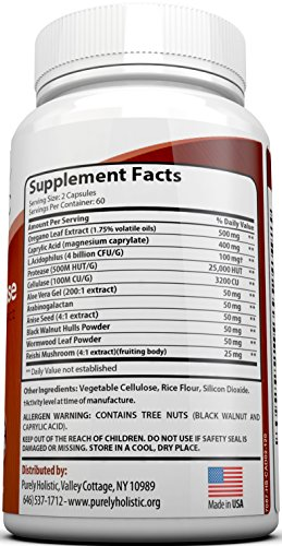 Candida-Cleanse-120-Capsules-Veggie-Caps-with-Herbs-Antifungals-Enzymes-and-Probiotics