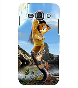 ColourCraft Beautiful Mermaid Design Back Case Cover for SAMSUNG GALAXY ACE 3 S7272 DUOS