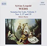 Weiss: Lute Sonatas, Vol.3