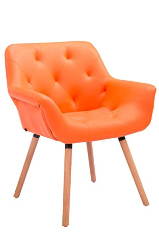 Sedia da attesa Cassidy natura arancione