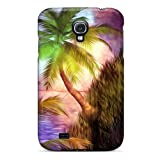 Protective Tpu Case With Fashion Design For Galaxy S4 (steep Shores At Sunset)