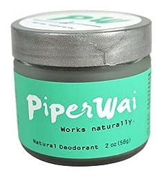 PiperWai Natural Deodorant 2 oz