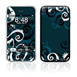 iPhone 3 / 3gs skin - Midnight Garden - High quality precision engineered removable adhesive vinyl skinby DecalGirl