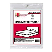 "UBOXES Moving Supplies King Size Mattress Cover/Bag 76"" x 15"" x 90"" (KINGCOVER01) by Uboxes"