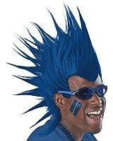 1 X Blue Mohawk Wigs