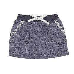 Pumpkin Patch Girls' Skirt (9400044684111_Charcoal Marle_2 - 3 Years)