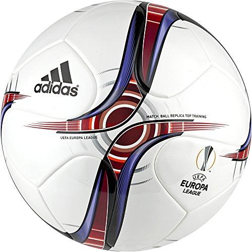 Adidas Uel Top Trainin Pallone da Calcio, Bianco (Bianco/Escarl/Buruni), 5
