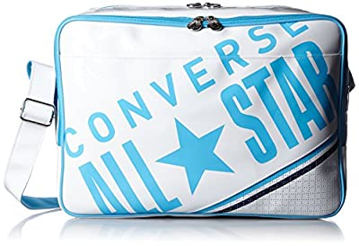[コンバース] ショルダーバッグ エナメルショルダー Mサイズ B4サイズ対応 容量:18l C1612053 ホワイトサックス