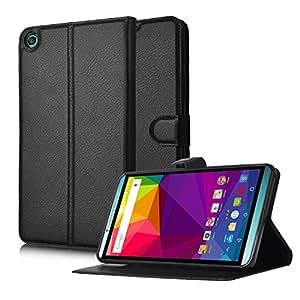 BLU Studio 7.0 II case, KuGi 7 inch universal 360 Degree Rotating Multi-Angle Stand Slim-Book PU Leather Cover Case for BLU Studio 7.0 II tablet(Black)
