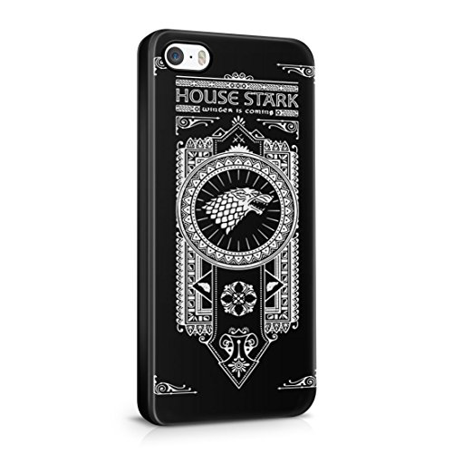 Game Of Thrones House Stark Winter is Coming iPhone 5 / 5S Hard Plastic Phone Case Cover