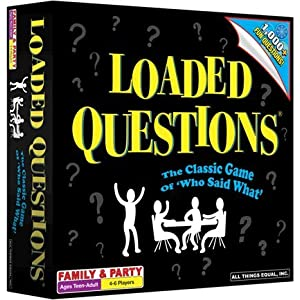 Loaded Questions Family Edition Board Game
