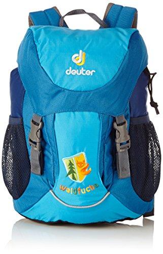 Deuter-Unisex-Kinder-Wanderrucksack-Waldfuchs-Turquoise-35-x-25-x-15-cm-10-Liter-36031