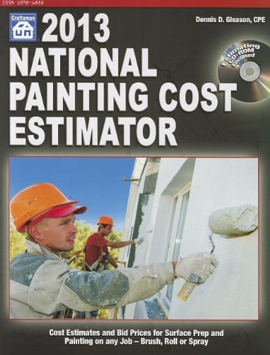 2013 National Painting Cost Estimator [With CDROM] - Craftsman Book Co - 1572182822 - ISBN: 1572182822 - ISBN-13: 9781572182820