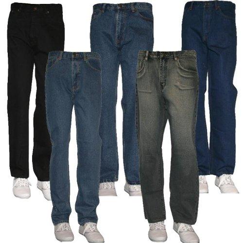 Mens Rockford Denim Jeans By Duke Western Style Size 34 Long
