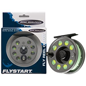 Ross Flystart Fly Prewound Reel from ROSS