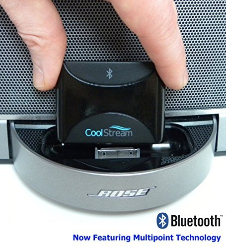 CoolStream Duo. Bluetooth Music Receiver for iPhone Docking Station, Home Boomboxes and Car Stereos.