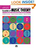 Essentials of Music Theory: Teacher's Answer Key Book