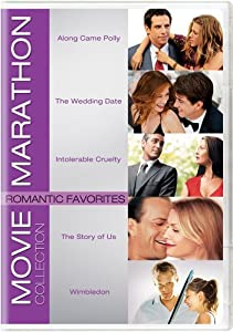 Movie Marathon Collection: Romantic Favorites (Along Came Polly / The Wedding Date / Intolerable Cruelty / The Story of Us / Wimbledon)