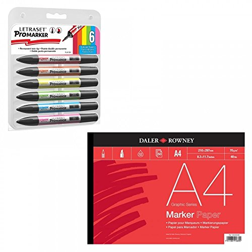letraset-promarker-vibrant-tones-and-a4-marker-pad-set