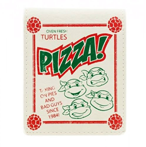 Teenage Mutant Ninja Turtles Pizza Box Bifold Wallet