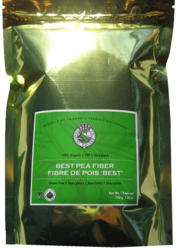 Best Pea Fiber, 1.65-Pound Pouches (Pack of 2)