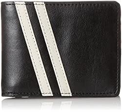 J.Fold Men's Roadster Slimfold Wallets, Black, One Size
