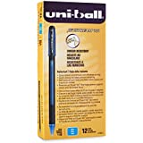 uni-ball Jetstream 101 Rollerball Pens, Bold Point, Blue Ink, Pack of 12