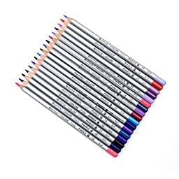 Kaimao 7100 Oily 72-color Art Colored Pencils Drawing Pencils for Artist Sketch 72 Assorted Colors/Set