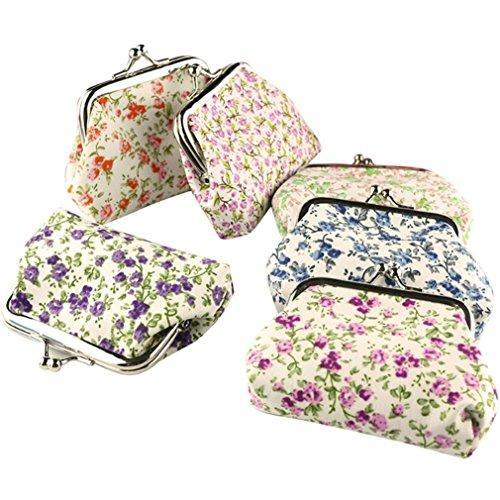 Wallet,toraway Lady Vintage Flower Mini Hasp Coin Purse Wallet Clutch Bag (Vintage Coin Purse compare prices)