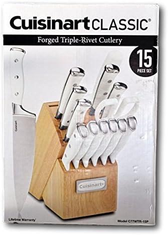 Cuisinart 15 Pc Triple Rivet Cutlery Block