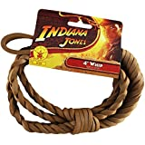 Indiana Jones 4' Whip Child (As Shown;One Size) by Rubie's