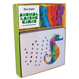 Eric Carle Animal Lacing Cards: 10 Cards and Laces (Eric Carle) Eric Carle