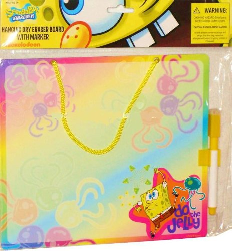 Spongebob Squarepants Rainbow Dry Erase Message Board