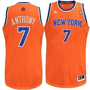 New York Knicks NBA Carmelo Anthony #7 Youth Replica Jersey YMD by Genuine Stuff