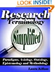 Research terminology simplified: Para...