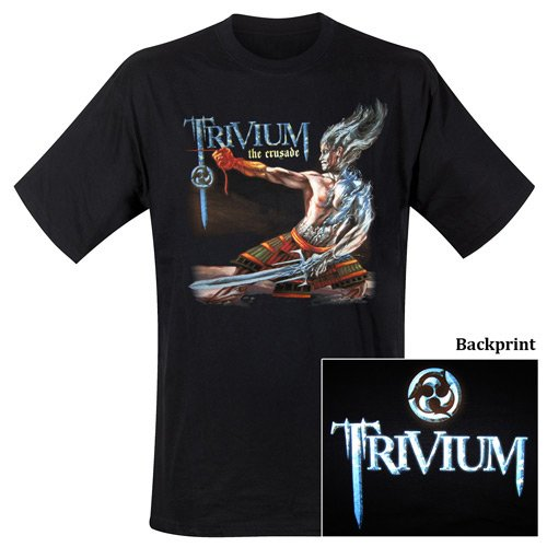 Trivium - T-Shirt Crusade (in S)
