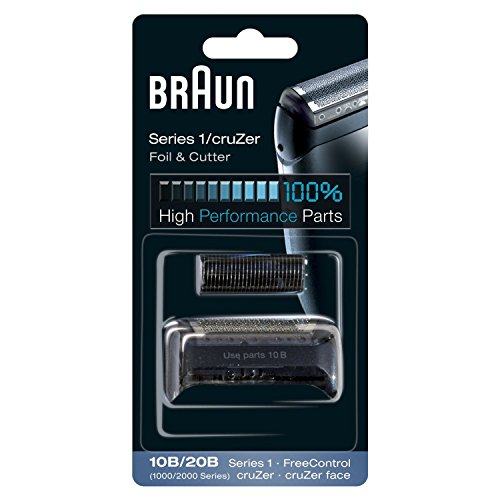 Braun 10B Replacement Foil and Cutter Cassette Multi Black BLS Combi Pack (Braun Series 1000 Foil And Cutter compare prices)