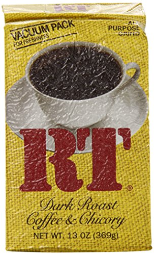 Rt Dark Roast Coffee And Chicory, 13-Ounce (Pack Of 4)