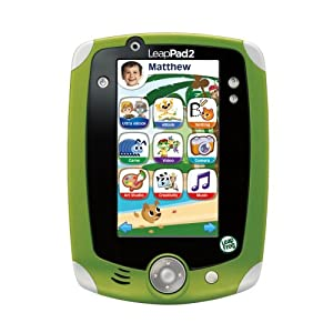 LeapFrog LeapPad2 Explorer Kids' Learning Tablet, Green