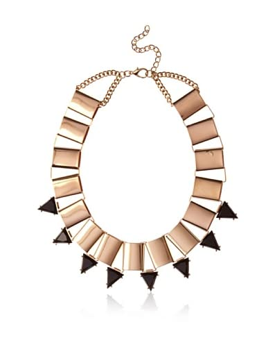 Jules Smith Enamel Spike & Link Necklace