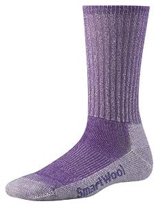 Smartwool Light Crew Womens Hiking Socks - M, Purple (Grape)