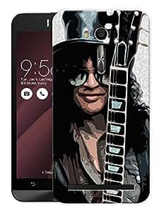 """Humor Gang Slash The Godfather Of Guitar Printed Designer Mobile Back Cover For """"Asus Zenfone Selfie"""" (3D, Matte, Premium Quality Snap On Case)"""