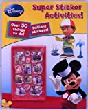 Playhouse Disney: Super 3D Sticker Activities Book
