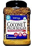 Betterbody Foods Organic Coconut, Palm Sugar, 2 Pound