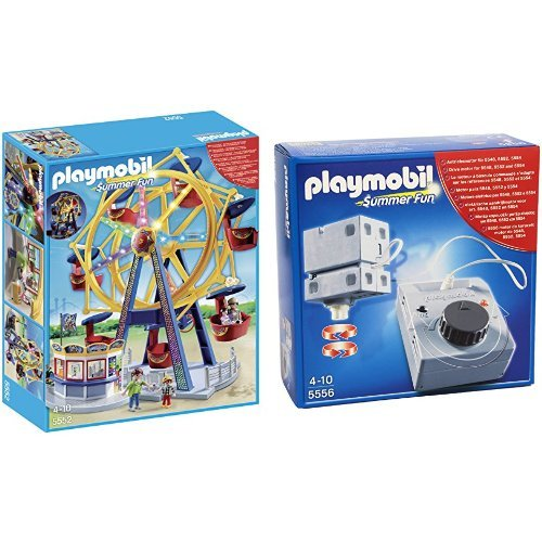 playmobil summer fun riesenrad mit bunter beleuchtung 5552. Black Bedroom Furniture Sets. Home Design Ideas