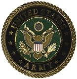 Uniformed U.S. Army Emblem Die Cut